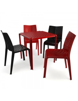 plastic-table-and-chair-ami-kartell-3d