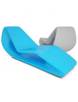 plastic-deckchair-organic-3d-models