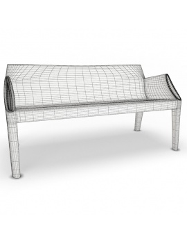 plastic-sofa-and-chair-magichole-3d-black-wireframe