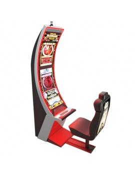 machines-a-sous-casino-arc-solo-3d-rouge