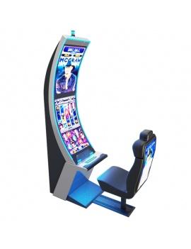 machines-a-sous-casino-arc-solo-3d-bleu