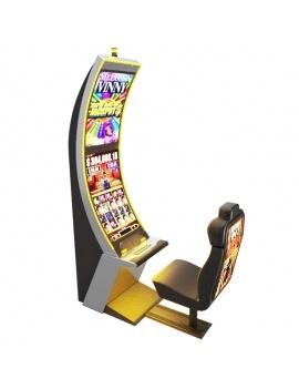machines-a-sous-casino-arc-solo-3d-jaune