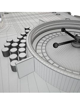 game-table-casino-roulette-wheel-3d-models-zoom-wireframe