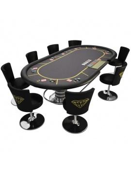 table-de-jeux-poker-3d