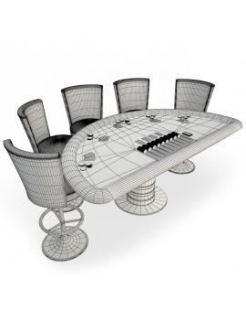 table-de-jeux-blackjack-3d-filaire