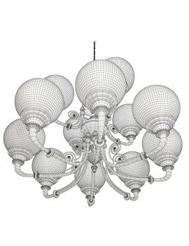parisian-brasserie-pendant-light-3d-models-wireframe
