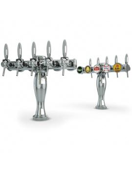 beer-taps-elysee-3d-models-5-nozzles