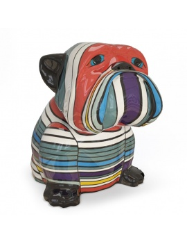 sculpture-decorative-bulldog-3d-01