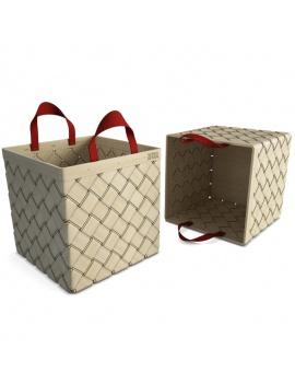 bamboo-braided-basket-3d