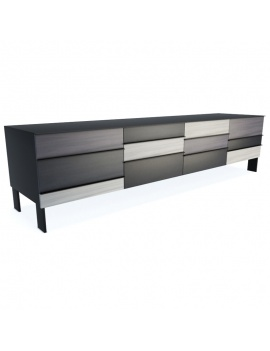 modern-wooden-sideboard-collection-3d-models-tv-unit