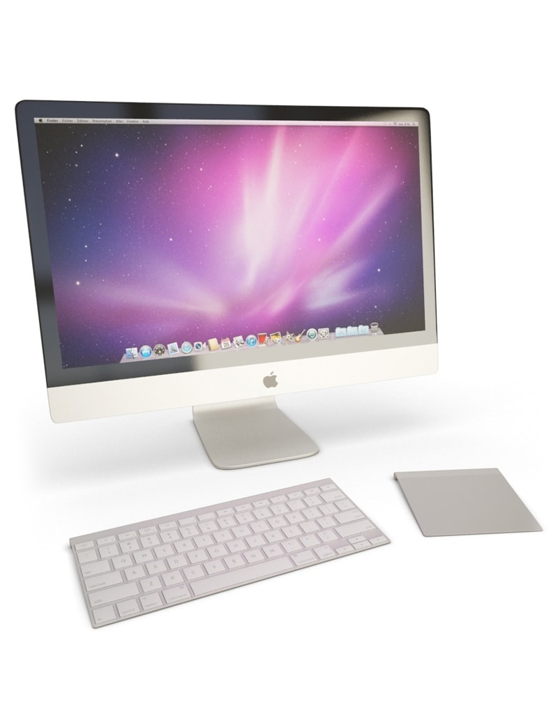 ordinateur-imac-pro-apple-3d