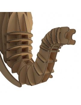 cardboard-sculpture-elephant-3d-zoom