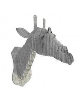 cardboard-sculpture-giraffe-3d-models-wireframe