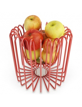 corbeille-de-fruits-pommes-modele-3d
