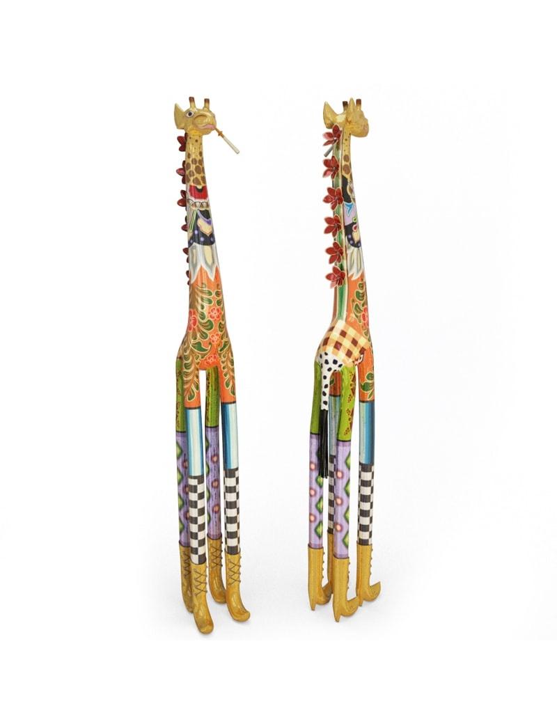 sculpture-de-girafe-coloree-modele-3d