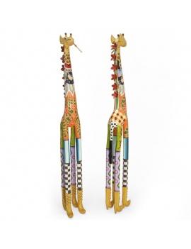sculpture-de-girafe-coloree-roxanna-3d