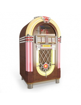 jukebox-wurlitzer-3d-models