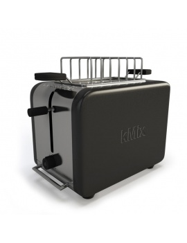 kmix-black-toaster-kenwood-3d