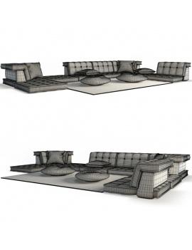 sofa-mah-jong-set-3d-02-wireframe