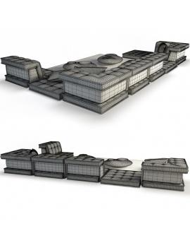sofa-mah-jong-set-3d-03-wireframe