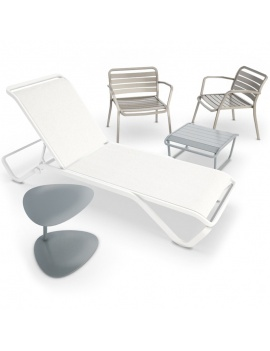 set-of-outdoor-metallic-furniture-3d-deckchair-table-armchair