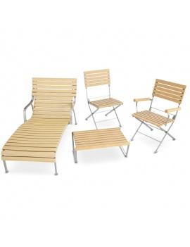 mobilier-exterieur-en-bois-3d