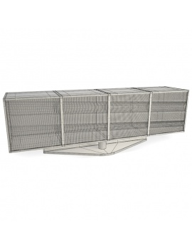 modern-metallic-furniture-roche-bobois-3d-opto-wireframe