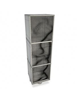 furniture-metal-set-3d-column-wireframe