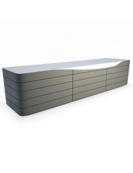 Sideboard Ora Ito 3d Models