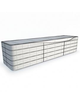 sideboard-ora-ito-roche-bobois-3d-wireframe