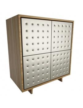 set-sideboard-pattern-3d-china-unit