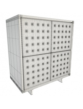 set-sideboard-pattern-3d-china-unit-wireframe