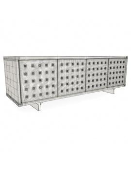 set-sideboard-pattern-3d-wireframe