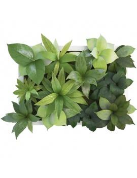 tableau-vegetal-plantes-40-x-30-cms-3d