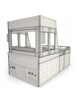 boy-fire-bedroom-set-3d-truck-fireman-bed-wireframe