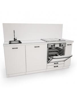 cuisine-moderne-complete-3d-plan-travail-filaire