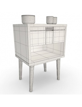 modern-bedroom-set-3d-nighstand-wireframe