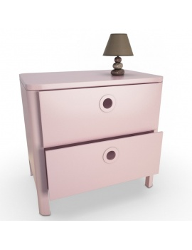 girl-bedroom-set-3d-dresser