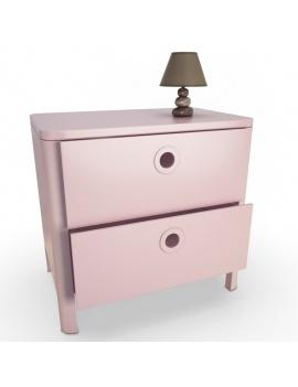 pink-girl-bedroom-set-3d-dresser
