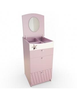 pink-girl-bedroom-set-3d-chifonnier