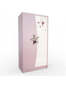 pink-girl-bedroom-set-3d-closet