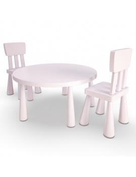 girl-bedroom-set-3d-table-chair