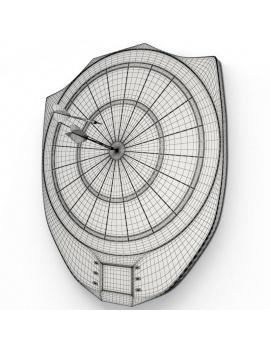 jeux-de-salle-3d-cible-fléchettes-électronique-filaire