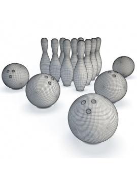 jeux-de-salle-3d-bowling-filaire