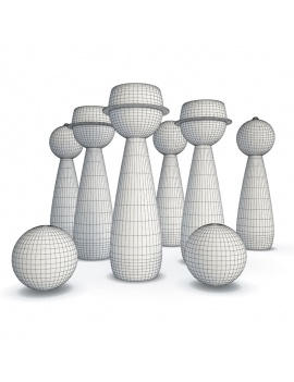 wooden-toys-collection-3d-pirate-bowling-wireframe