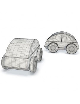 wooden-toys-collection-3d-lillabo-car-wireframe