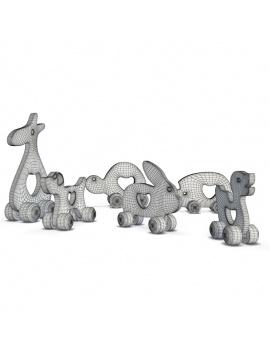 collection-de-jeux-d-enfants-en-bois-3d-animaux-bois-filaire