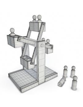 collection-de-jeux-d-enfants-en-bois-3d-grande-roue-filaire