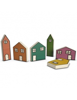 wooden-toys-collection-3d-wooden-house