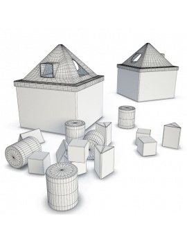 wooden-toys-collection-3d-mula-house-pieces-wireframe